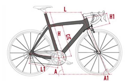 Scelta telaio e taglia della bici