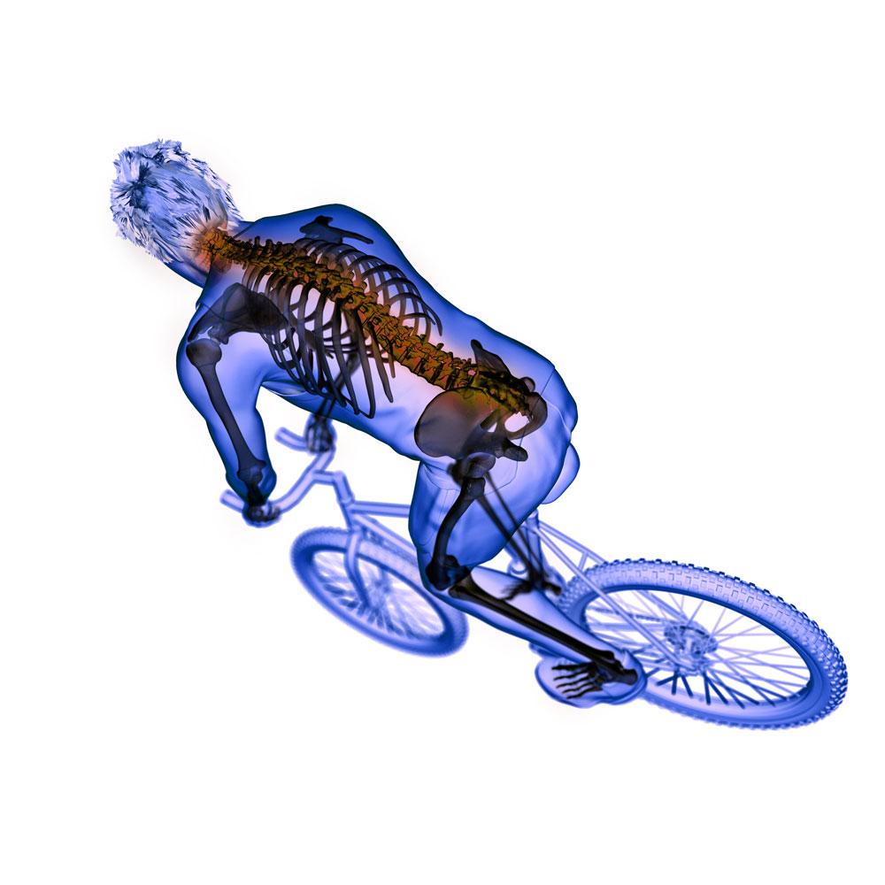Biomeccanica posturale per risolvere i dolori del ciclista