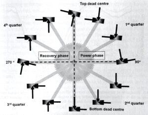 fasi della pedalata rotonda