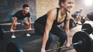 allenamento della forza nelle donne